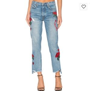 GRLFRND Helena day after high rise crop jeans 25